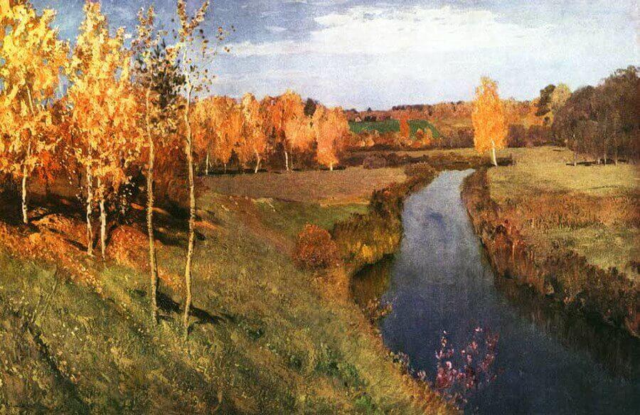 Доклад о картине левитана золотая осень 191
