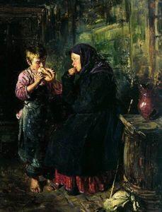 Сочинение по картине В.Е. Маковского «Свидание»