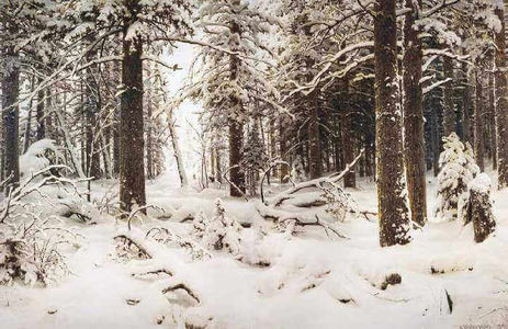 Сочинение по картине И.И. Шишкина «Зима»