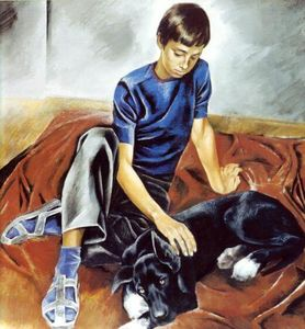 Сочинение по картине Е.Н. Широкова «Друзья»