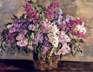 Сочинение по картине П.П. Кончаловского «Сирень в корзине»