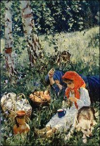 Cочинение по картине А.А. Пластова «Летом»