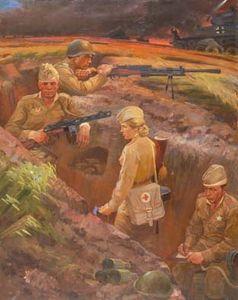 Сочинение по картине В.Н. Гаврилова «Последние васильки»