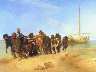 Сочинение по картине И.Е. Репина «Бурлаки на Волге»