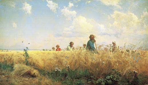 Сочинение по картине Г.Г. Мясоедова «Страдная пора. Косцы»