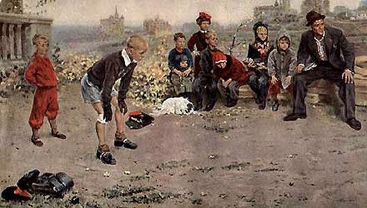 Сочинение по картине С.А. Григорьева «Вратарь»