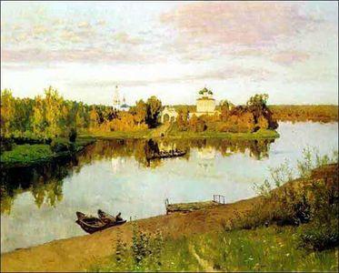 Сочинение по картине И.И. Левитана «Вечерний звон»