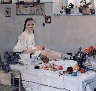 Сочинение по картине Н.И. Фешина «Портрет Вари Адоратской»