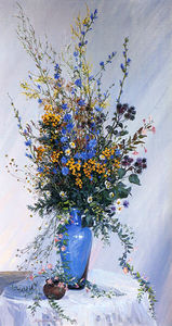 Сочинение по картине М.В. Вишняк «Букет сентября»