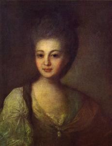 Сочинение по картине Ф.С. Рокотова «Портрет А.П. Струйской»
