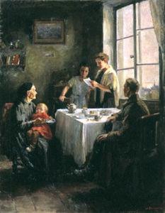 Сочинение по картине Н.Н. Ватолиной «Вести с фронта»