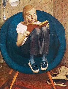Сочинение по картине В.В. Хабарова «Портрет Милы»