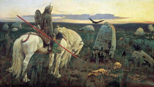 Сочинение по картине В.М. Васнецова «Витязь на распутье»