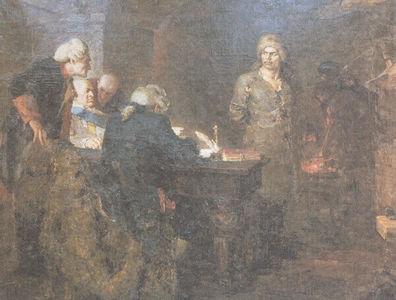 Сочинение по картине А.А. Кузнецова «Допрос Салавата»