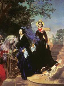 Сочинение по картине К.П. Брюллова «Портрет сестер Шишмаревых»