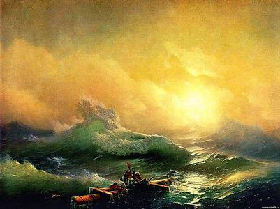 Сочинение по картине И.К. Айвазовского «Девятый вал»
