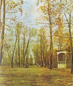 Сочинение по картине И.И. Бродского «Летний сад осенью»