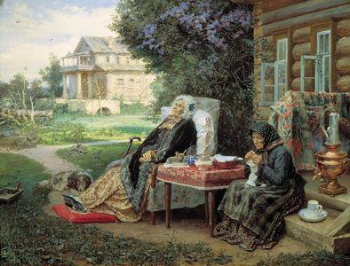 Сочинение по картине В.М. Максимова «Все в прошлом»