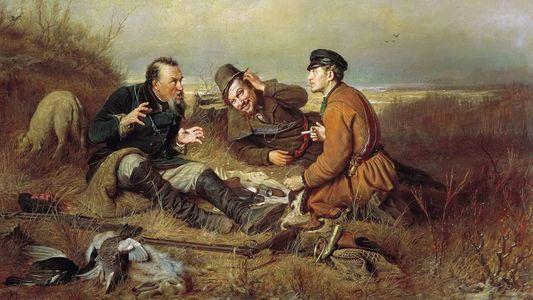 Сочинение по картине В.Г. Перова «Охотники на привале»