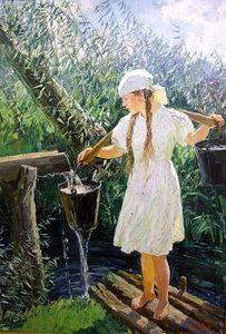 Сочинение по картине А.А. Пластова «Родник»