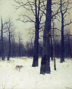 Сочинение по картине И.И. Левитана «Зимой в лесу»