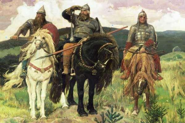 Картина «Богатыри» написана на сюжет ...: mirsoch.ru/po-kartinam/20-sochinenie-po-kartine-vm-vasnecova...