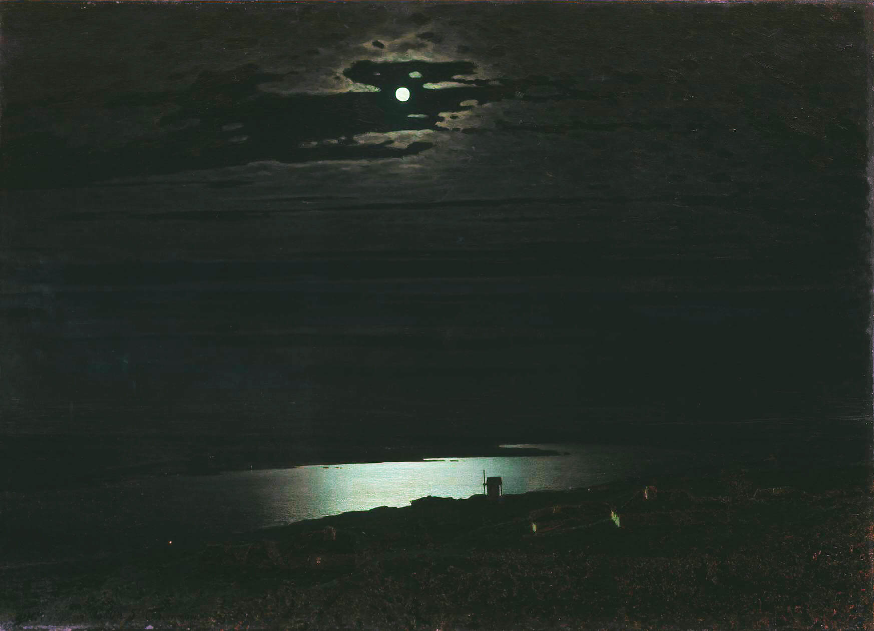 сочинение а.куинджи лунная ночь на днепре