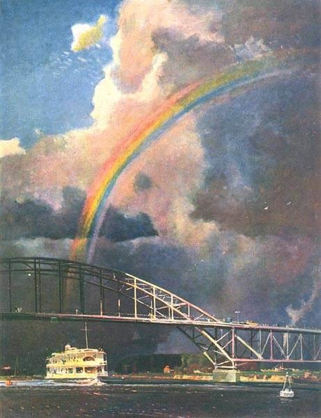 Сочинение по картине Г.Г. Нисского «Радуга»