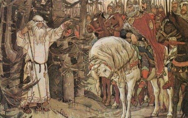 Сочинение по картине В.М. Васнецова «Песнь о вещем Олеге»