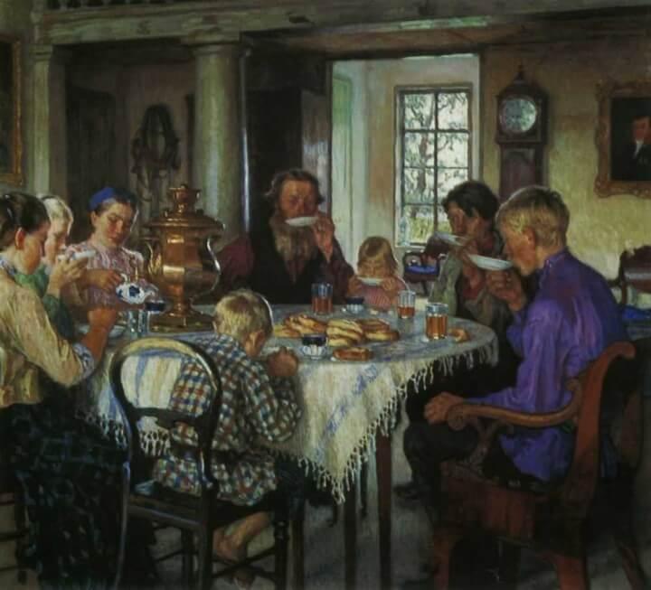Сочинение по картине Н.П. Богданова-Бельского «Новые хозяева»