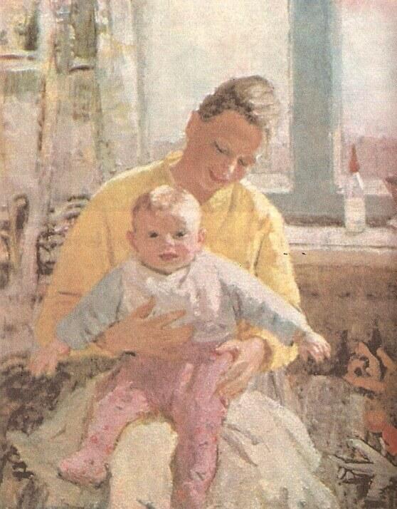 Сочинение по картине материнство 7 класс