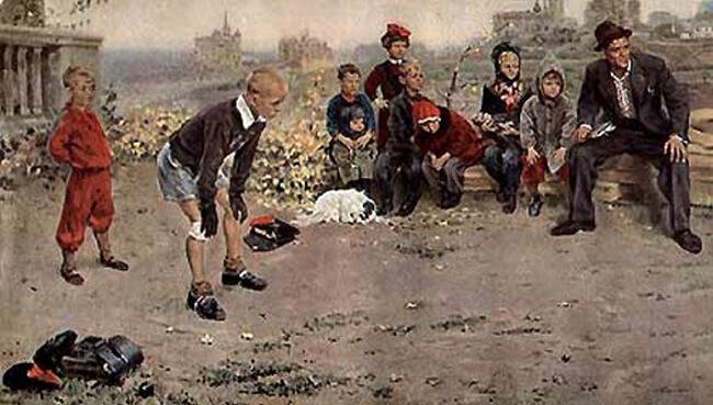 Сочинение по картине С.А. Григорьева «Вратарь» (от первого лица)