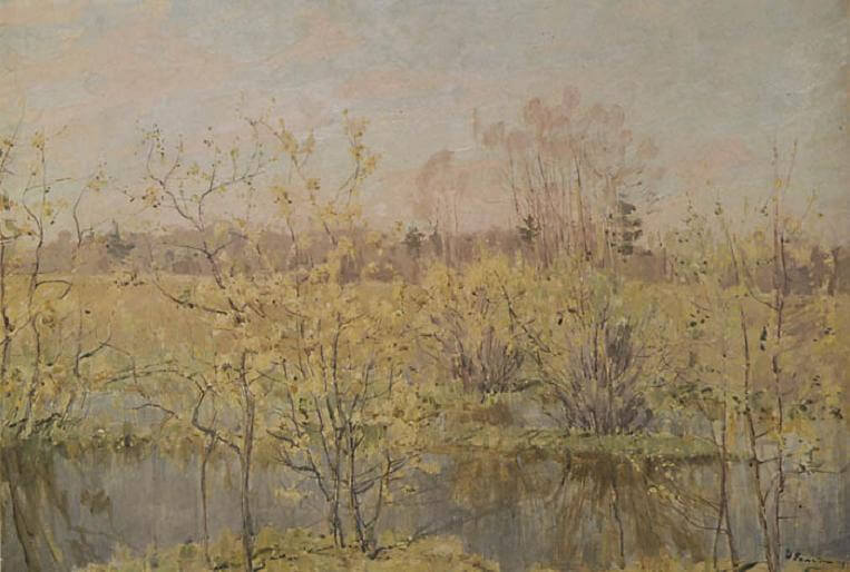 Сочинение по картине М.Н. Ромадина «Первое цветение»