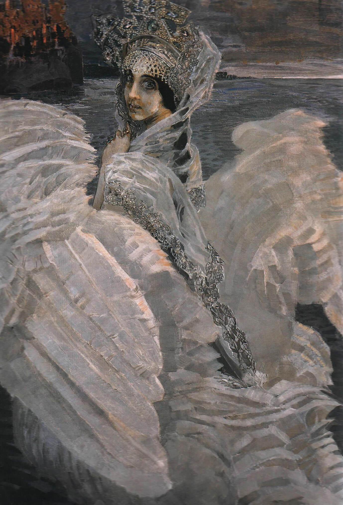 Сочинение по картине М.А. Врубеля «Царевна-Лебедь»