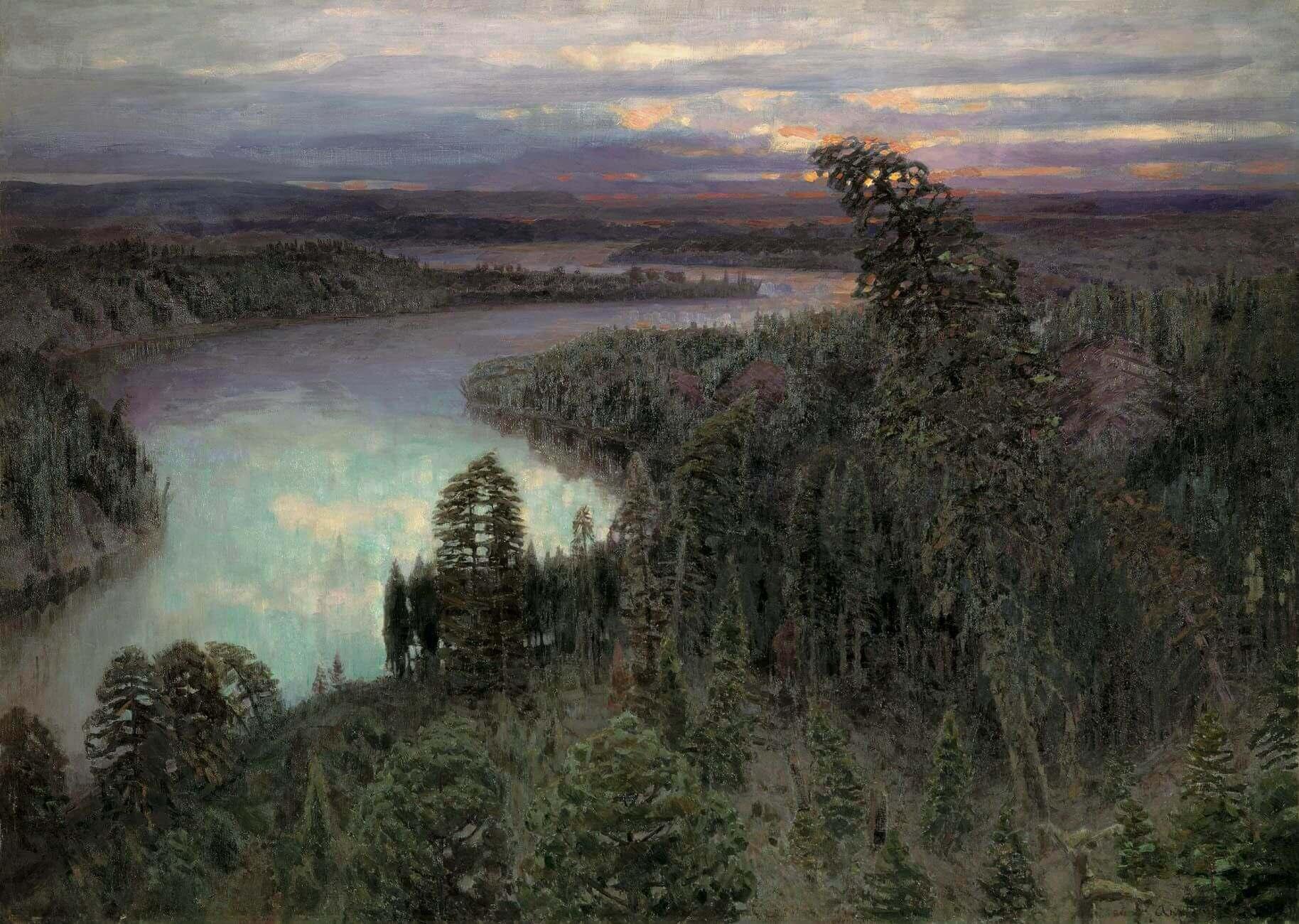 Сочинение по картине В.М. Васнецова «Северный край»