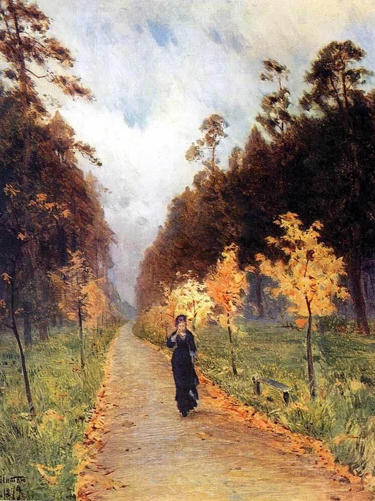 Сочинение по картине И.И. Левитана «Осенний день. Сокольники»